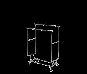 VacQfix™ Mobile Storage Rack - Dual Bar